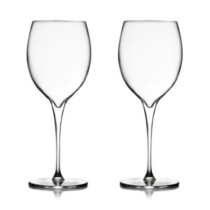 Nambe Vie Chardonnay Glass, Set of 2