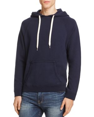 Frame French Terry Pullover Hoodie Sweatshirt