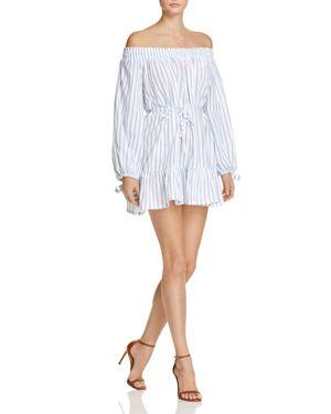 Faithfull the Brand Milos Off-the-Shoulder Dress 2451259