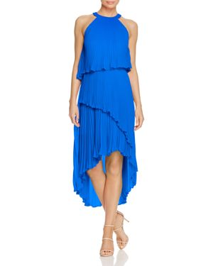 Laundry by Shelli Segal Pleated Tiered Dress - 100% Exclusive