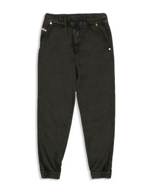 Diesel Boys' Stretch Twill Jogger Jeans - Big Kid 2420700