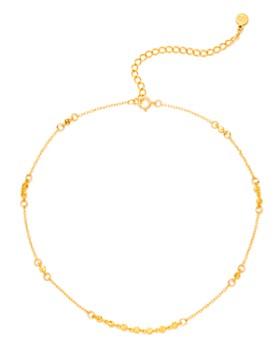 "Gorjana - Chloe Delicate Choker Necklace, 12"""