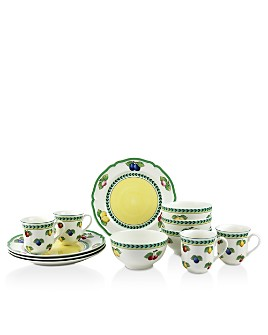 Villeroy & Boch - French Garden 12-Piece Dinnerware Set