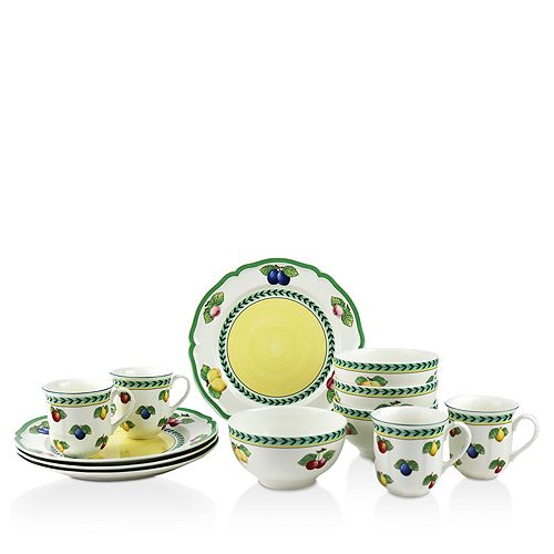 Villeroy Boch French Garden 12 Piece Dinnerware Set