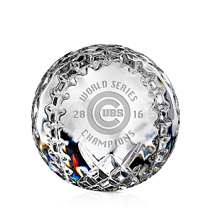 Waterford World Series 2016 Champs Baseball Collectible - 2nd Edition
