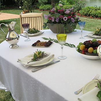 "Mode Living - Paris Tablecloth, 54"" x 72"""