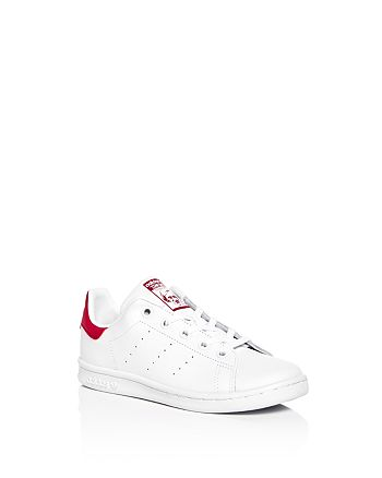 Adidas - Girls' Stan Smith Lace Up Sneakers - Toddler, Little Kid