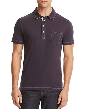 Billy Reid Pensacola Slim Fit Polo Shirt