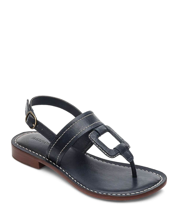Bernardo Tegan T-Strap Slingback Sandals 5AuptV