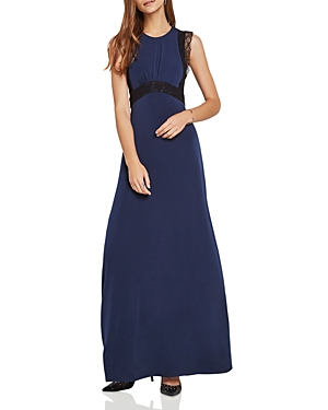 BCBGeneration Lace-Trimmed Evening Dress