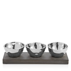 Michael Aram Ripple Effect Triple Bowl Set - Bloomingdale's Registry_0