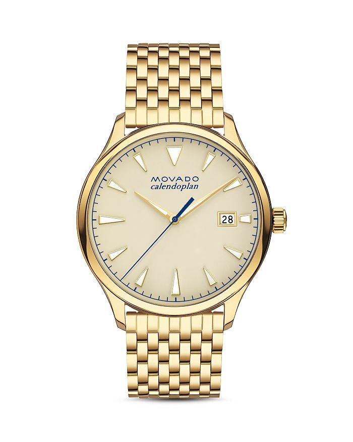 Movado - Heritage Series Calendoplan Watch, 40mm