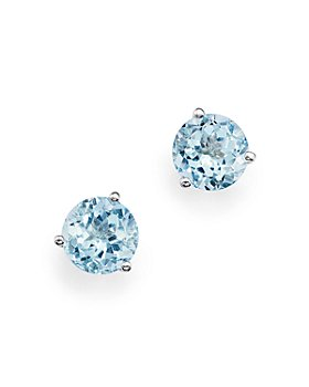 Bloomingdale's - Gemstone Stud Earrings in 14K Gold - 100% Exclusive