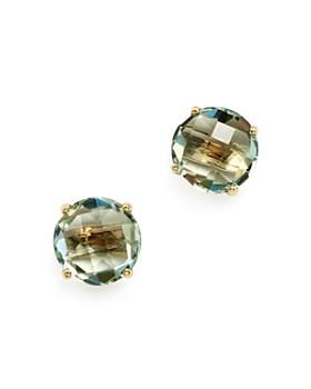 Bloomingdale's - Prasiolite Briolette Stud Earrings in 14K Yellow Gold- 100% Exclusive