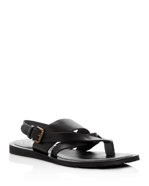 MEN'S REEL-IST LEATHER THONG SANDALS