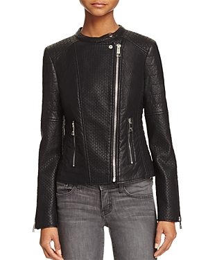 Guess Jazmin Saint Faux Leather Moto Jacket