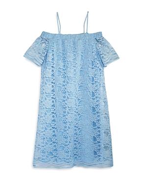 Aqua Girls' Lace Off-the-Shoulder Dress, Big Kid - 100% Exclusive