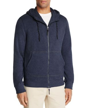 Surfside Supply Terry Cloth Zip Front Hoodie