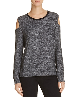 Velvet by Graham & Spencer Chalize Cold Shoulder Pullover