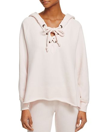 WILDFOX - Hutton Lace-Up Sweatshirt, Fashion Find