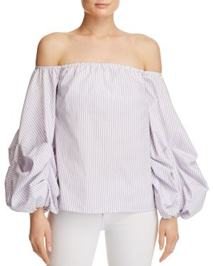 Petersyn Hannah Voluminous Off-The-Shoulder Top - 100% Exclusive