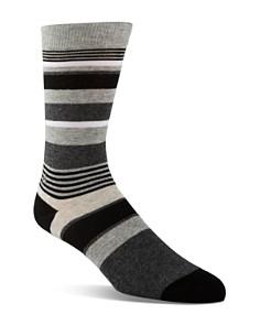 Calvin Klein Multistripe Logo Crew Socks - Bloomingdale's_0