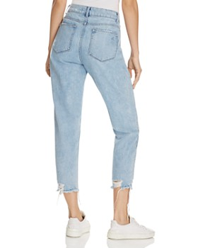 DL1961 - Goldee High Rise Tapered Jeans in Plunge