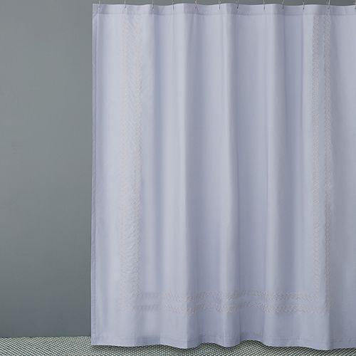 Hudson Park Collection Quatrefoil Shower Curtain
