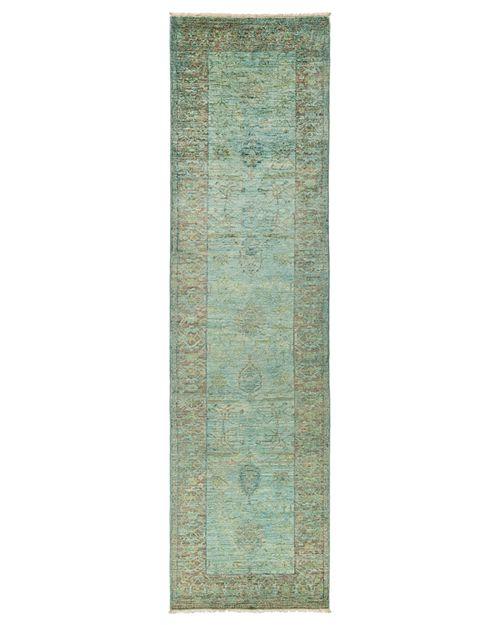 "Solo Rugs - Vibrance Area Rug, 3'3"" x 12'"