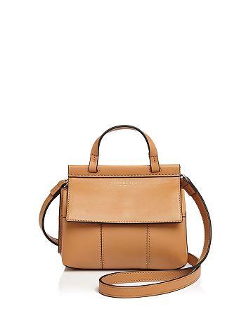 b7578fdf1f Tory Burch - Block-T Mini Leather Satchel