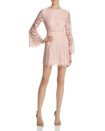Do and Be - Lace Bell Sleeve Dress - 100% Exclusive
