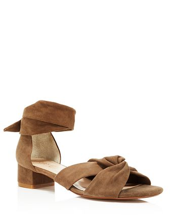 Raye - Women's Aurora Ankle Wrap Block Heel Sandals