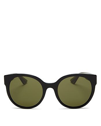 Gucci - Women's Cat Eye Logo Sunglasses, 54mm