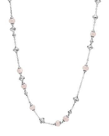 """JOHN HARDY - Sterling Silver Bamboo Sautoir Necklace with White Moonstone, 36"""""""