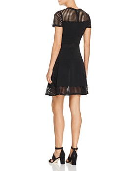 MICHAEL Michael Kors - Mesh Panel Dress