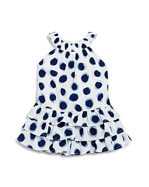3 Pommes Infant Girls Dot Print Dress  Sizes 324 Months