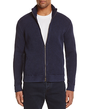 Click here for The Mens Store at Bloomingdales Ribbed Cotton Zip... prices