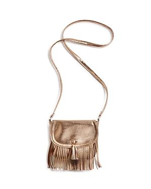 Capelli Metallic Fringe Crossbody Bag