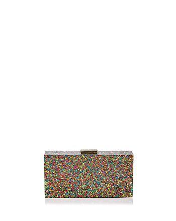 Sondra Roberts - Confetti Glitter Clutch