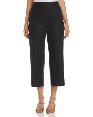Basler Cropped Linen Pants