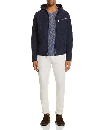 John Varvatos Star USA - Hooded Zip Front Jacket, Scotch & Soda Mott Slim Fit Chino Pants & More