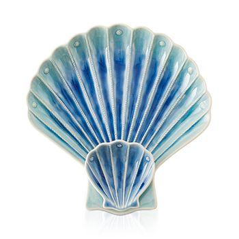 Juliska - Berry & Thread Delft Ombré Shell Appetizer Plate