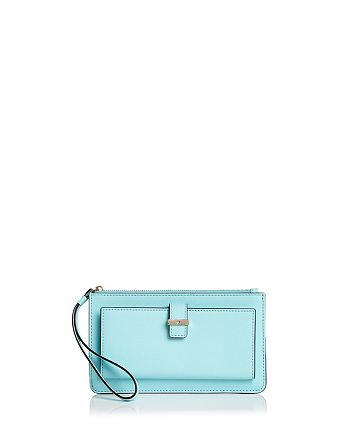 kate spade new york - Cameron Street Karolina Saffiano Leather Wristlet