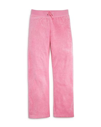 Juicy Couture Black Label - Girls' Microterry Lounge Pants - Big Kid