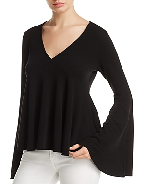 Michelle by Comune Flared Sleeve Top - 100% Exclusive