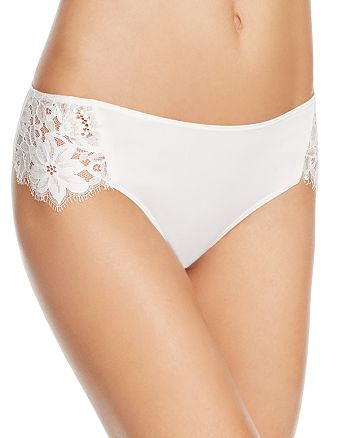 For Love & Lemons - Sage Lace Briefs