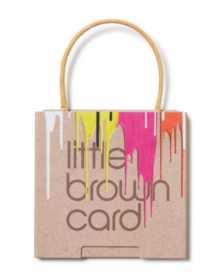 Bloomingdale's Painted Little Brown Gift Card