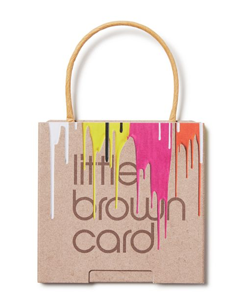 Bloomingdale's - Painted Little Brown Gift Card