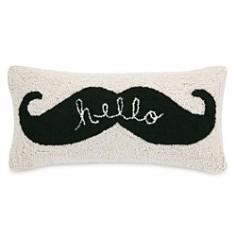 "Peking Handicraft Hello Moustache Decorative Pillow, 9"" x 18"" - Bloomingdale's_0"