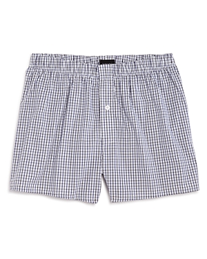 Hanro Fancy Check Woven Boxers